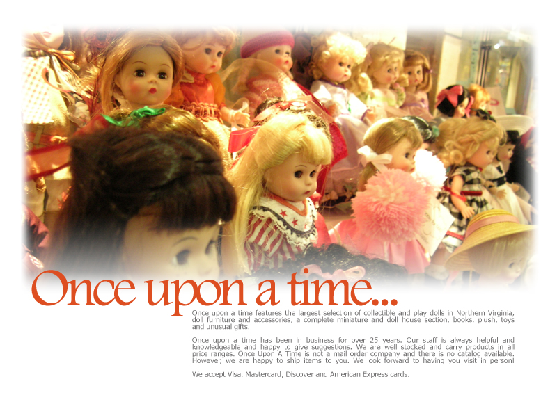 once upon a time  toys  dolls  doll houses  collectibles
